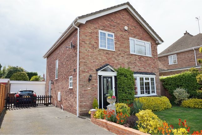 Thumbnail Detached house for sale in Hatton Avenue, Wellingborough