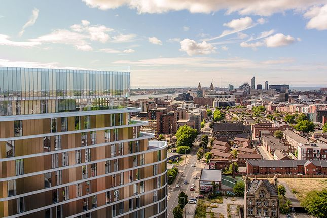 Thumbnail Flat for sale in Parliament Square Tower, Greenland Street, Liverpool