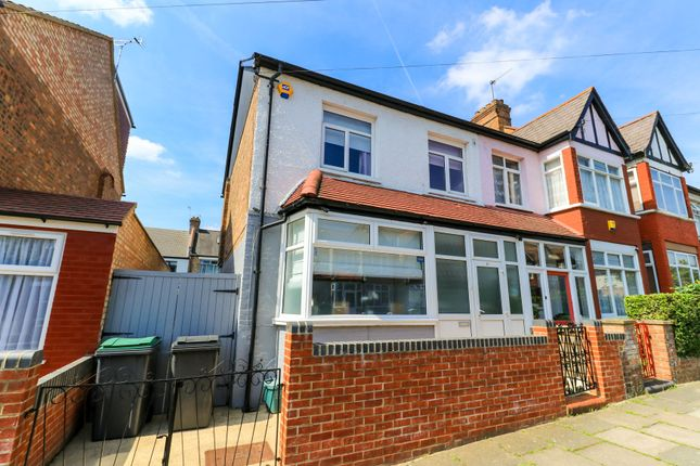 Thumbnail End terrace house for sale in Forfar Road, London