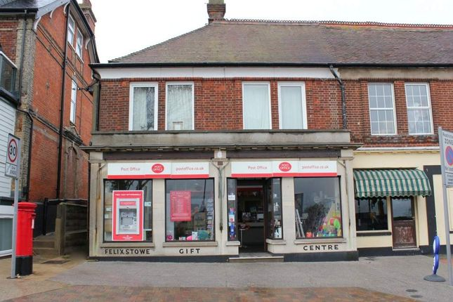 Thumbnail Retail premises for sale in Felixstowe, Suffolk