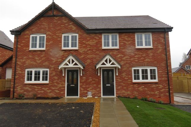 Thumbnail Semi-detached house for sale in Trinity View, Bomere Heath, Shrewsbury