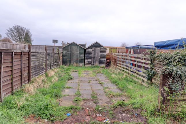 Rear Garden of Welbeck Street, Creswell, Worksop S80