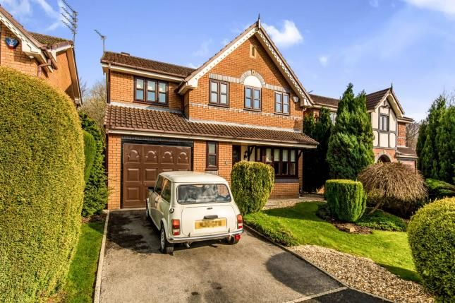 Thumbnail Detached house for sale in Darnton Gardens, Ashton-Under-Lyne, Greater Manchester, Ashton
