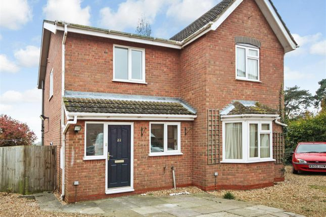Thumbnail Semi-detached house to rent in Kiln Close, Little Downham, Ely
