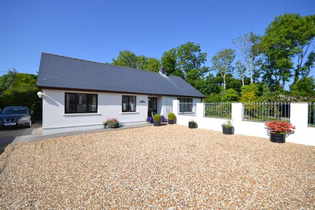 3 bed detached bungalow for sale in The Crescent, Johnston, Haverfordwest