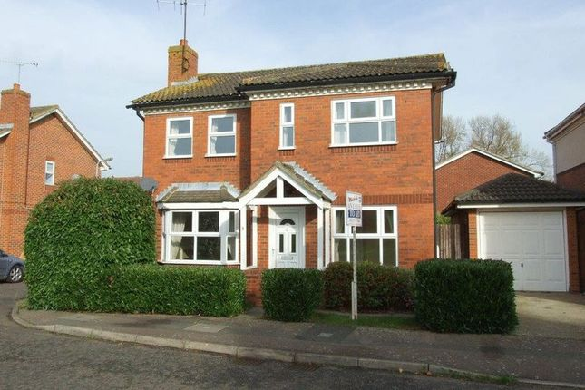 Thumbnail Detached house to rent in Daly Way, Aylesbury