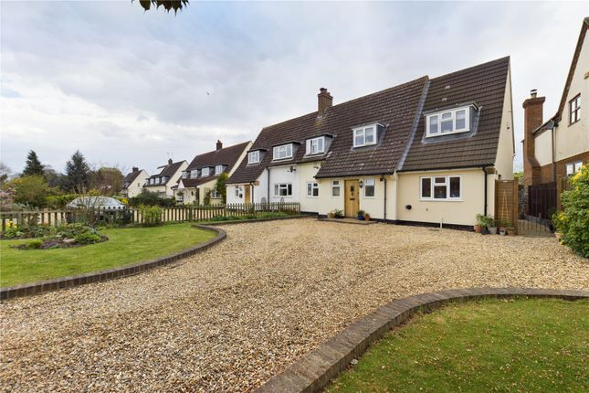 Thumbnail Semi-detached house for sale in Ickwell Road, Northill, Biggleswade, Bedfordshire