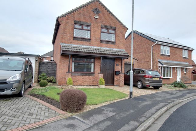 Thumbnail Detached house for sale in Hornsea Close, Billingham, Cleveland