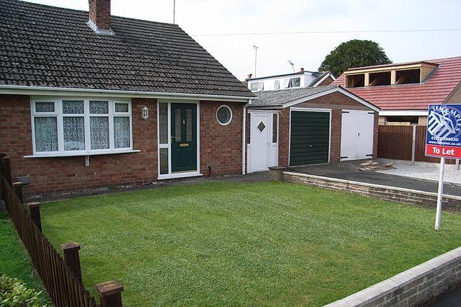2 bed semi-detached bungalow to rent in Yew Tree Road, Wistaston, Crewe, Cheshire