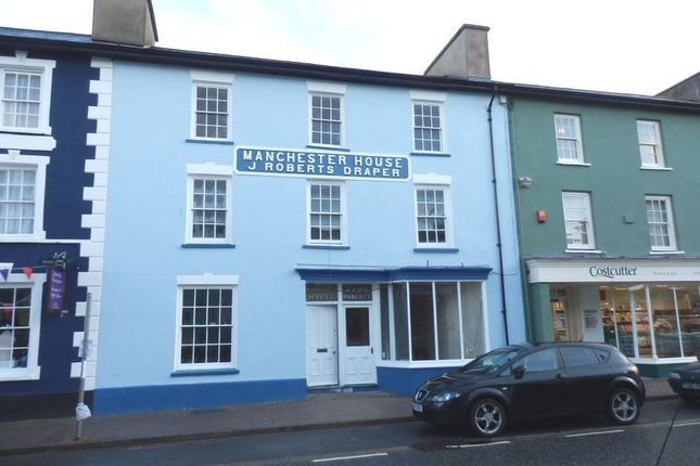 Thumbnail Commercial property for sale in 19 Market Street, Aberaeron