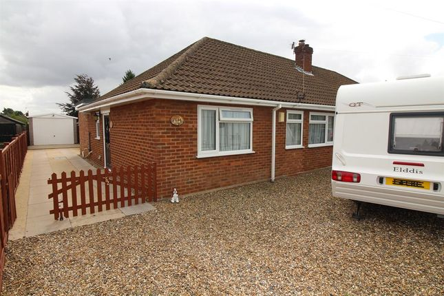 Thumbnail Semi-detached bungalow for sale in Drayton Wood Road, Hellesdon, Norwich