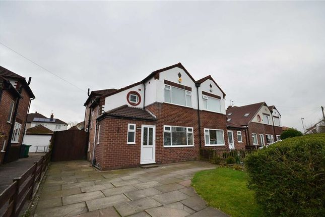 Thumbnail Semi-detached house to rent in Granville Gardens, Didsbury, Manchester, Greater Manchester