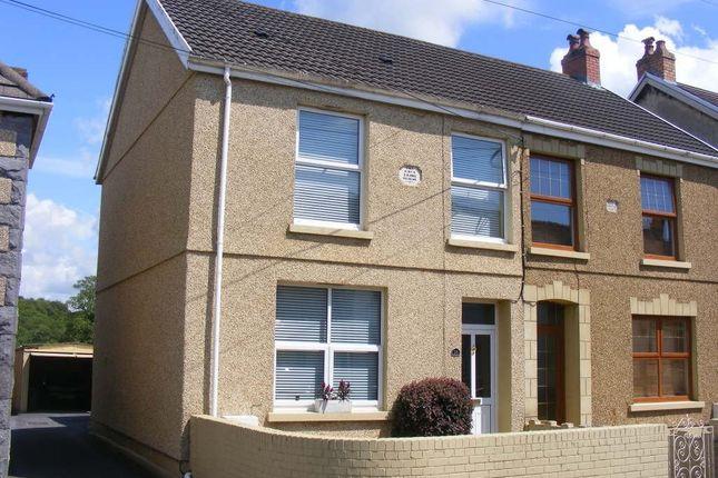 Thumbnail Semi-detached house for sale in Furnace Terrace, Pontyberem, Llanelli