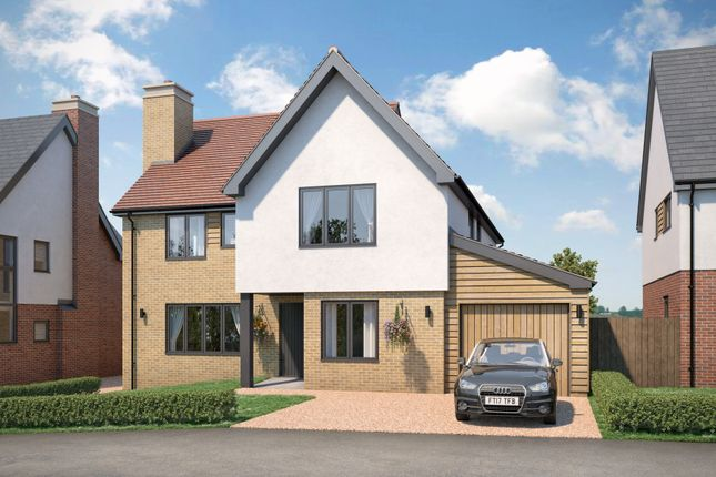 Thumbnail Detached house for sale in Plot 4, Dukes Park, Duke Street, Hintlesham, Ipswich, Suffolk