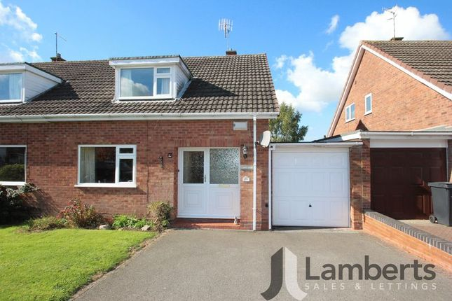 Thumbnail Semi-detached house for sale in Churchway Piece, Inkberrow, Worcester