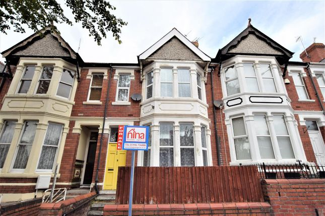 Thumbnail Terraced house for sale in Gladstone Road, Barry