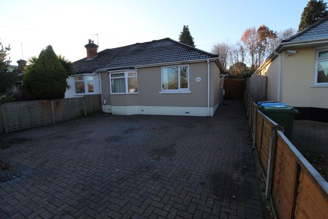 Thumbnail Semi-detached bungalow for sale in Recreation Road, Poole