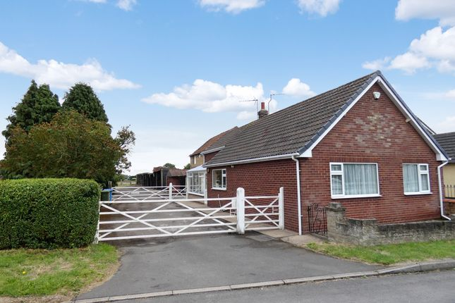 Thumbnail Detached bungalow for sale in Station Road, Walkeringham, Doncaster