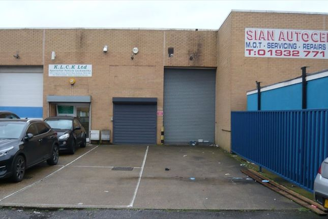 Thumbnail Light industrial for sale in Unit 6 Cypress Court, Harris Way, Sunbury On Thames, Middlesex