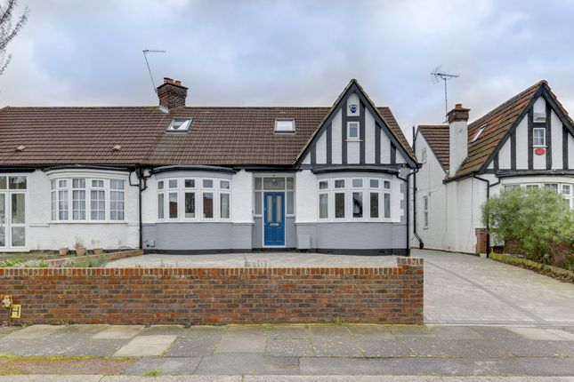 Thumbnail Semi-detached house for sale in Crossway, Enfield