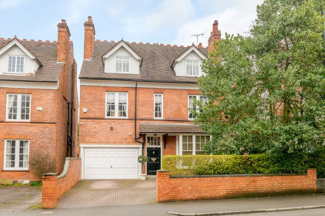 Thumbnail Detached house for sale in Rotton Park Road, Edgbaston, Birmingham