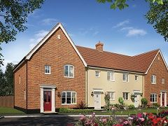 Thumbnail Terraced house for sale in Ipswich Road, Needham Market