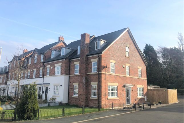 Thumbnail Town house for sale in Appleby Crescent, Mobberley, Mobberley
