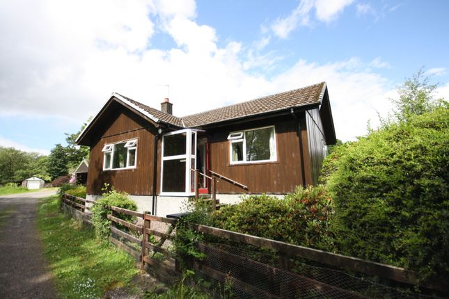 Thumbnail Detached bungalow for sale in Cedarwood Cottage, Airds Bay, Taynuilt