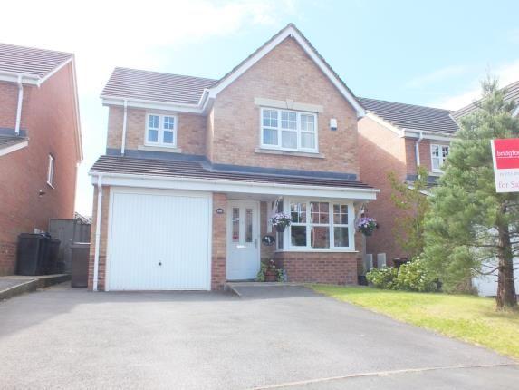 Thumbnail Detached house for sale in Parish Gardens, Leyland, Lancashire