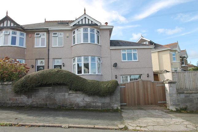 Thumbnail Semi-detached house for sale in Hill Lane, Hartley, Plymouth, Devon