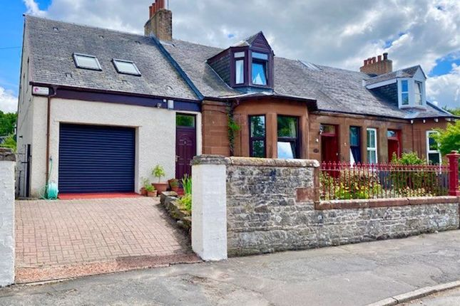 Thumbnail Semi-detached house for sale in West End, Dailly, Girvan