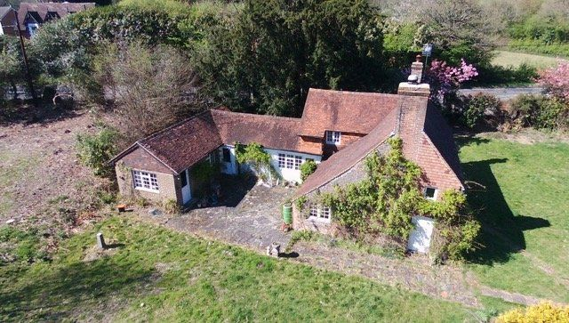 Thumbnail Cottage for sale in Snow Hill, Crawley Down, Crawley