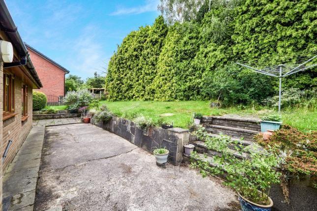 Garden of John Street, Higher Heyrod, Stalybridge, Greater Manchester SK15