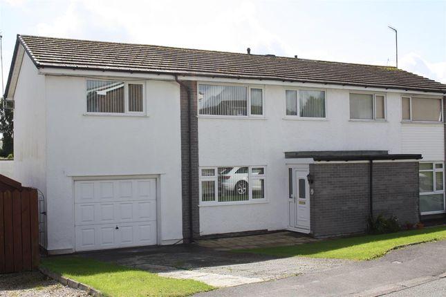 Thumbnail Semi-detached house for sale in Ffordd Rhiannon, Llanfairpwllgwyngyll