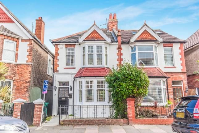 Thumbnail Semi-detached house for sale in Worcester Villas, Hove, East Sussex