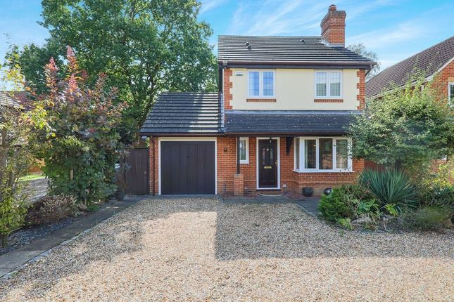 Thumbnail Detached house to rent in Wellburn Close, Sandhurst