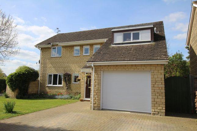 Thumbnail Detached house for sale in Bell Piece, Sutton Benger, Chippenham