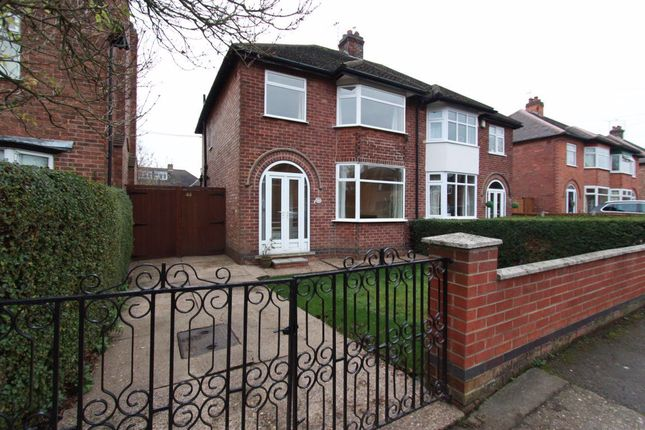 Thumbnail Semi-detached house to rent in Clarence Road, Attenborough