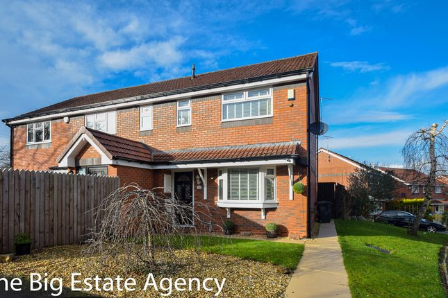 Semi-detached house for sale in Courbet Drive, Connah's Quay, Deeside