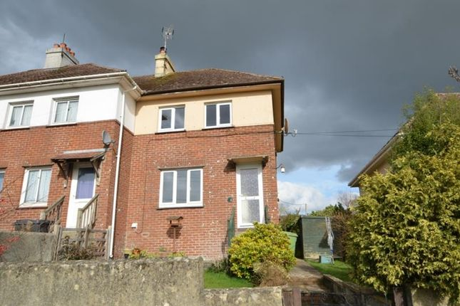 Thumbnail End terrace house to rent in Church Road, Ideford, Chudleigh