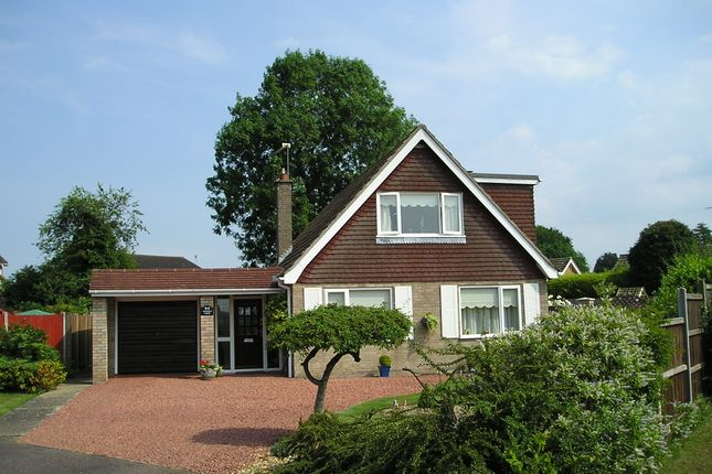 Thumbnail Detached bungalow for sale in Nelson Court, Watton, Thetford