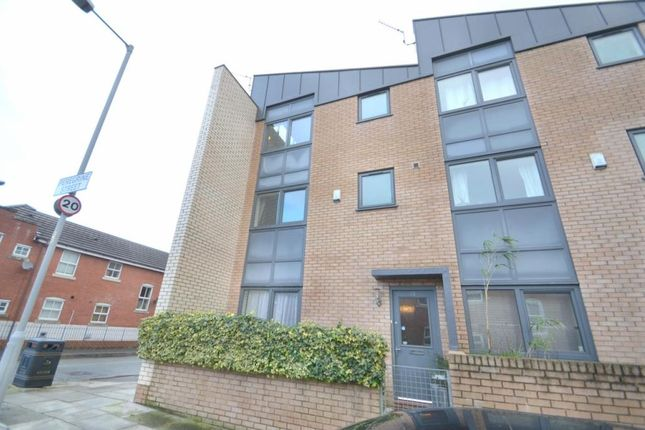 Thumbnail End terrace house to rent in Peregrine St, Hulme, Manchester.