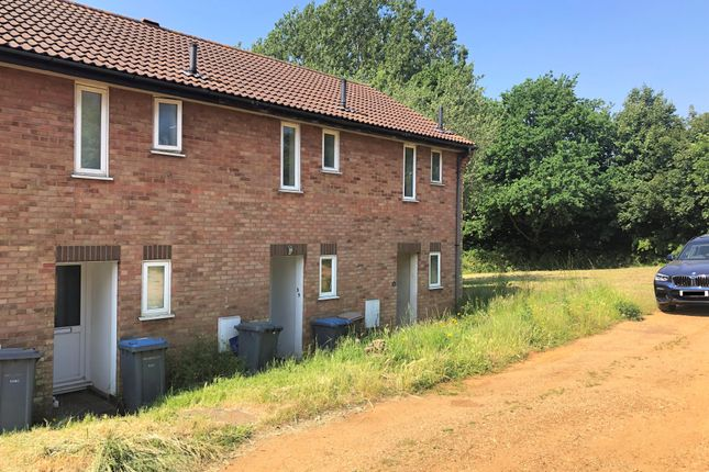 Thumbnail Terraced house to rent in Brightwell Close, Felixstowe