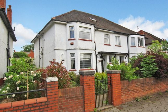 Thumbnail Semi-detached house for sale in Albany Road, Roath, Cardiff
