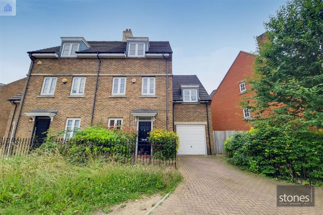 Thumbnail Semi-detached house to rent in Goodhall Close, Stanmore