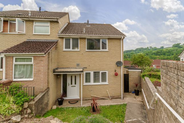 Thumbnail Semi-detached house for sale in Holly Park Drive, Plymouth