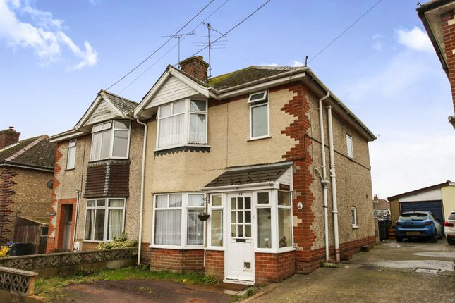 Thumbnail Semi-detached house for sale in Marina Road, Durrington, Salisbury
