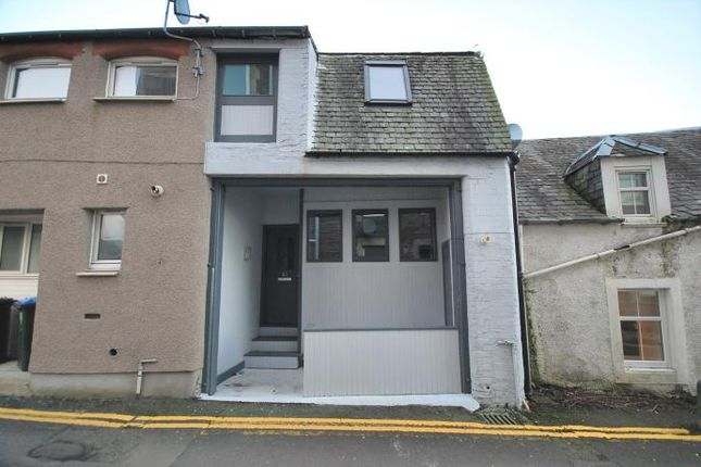 Thumbnail Terraced house to rent in Cornton Place, Crieff