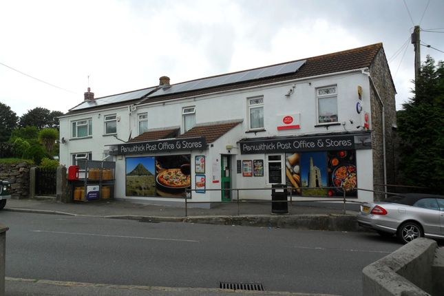 Thumbnail Retail premises for sale in Penwithick, Cornwall