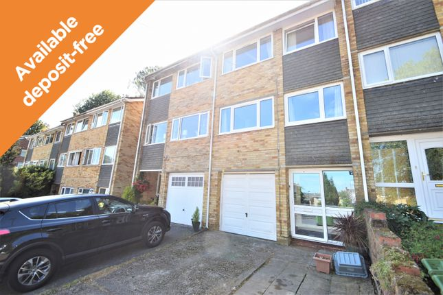 Thumbnail Town house to rent in Edelvale Road, West End, Southampton
